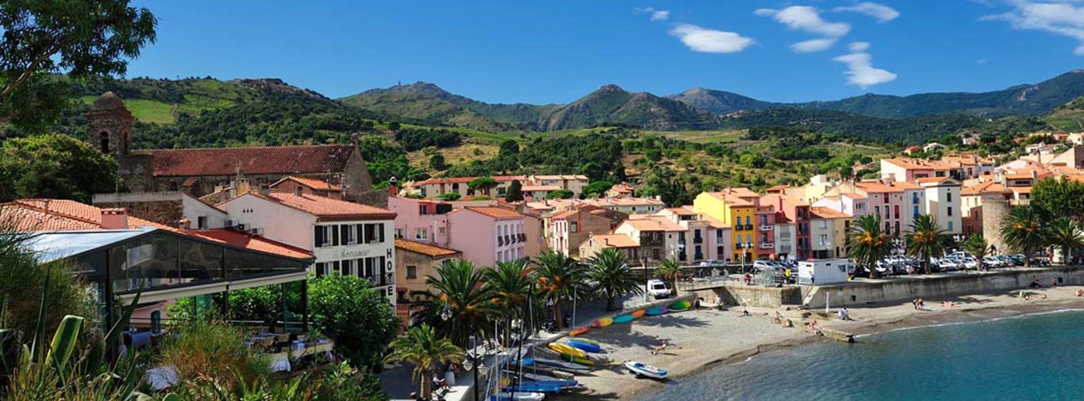 Collioure hotel og bolig til din bilferie eller flyrejse for Buro service perpignan