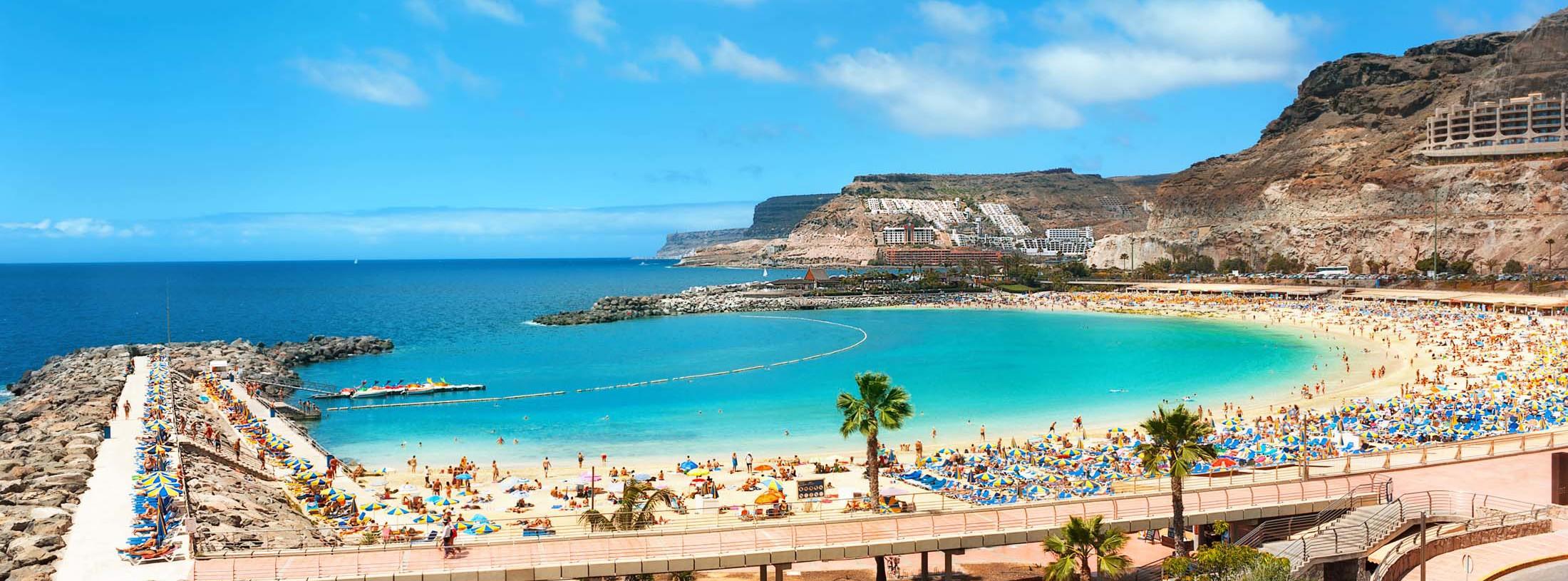 Gran canaria hotell og bolig for din ferie med bil eller reise med fly - Apartamentos puerto rico las palmas ...