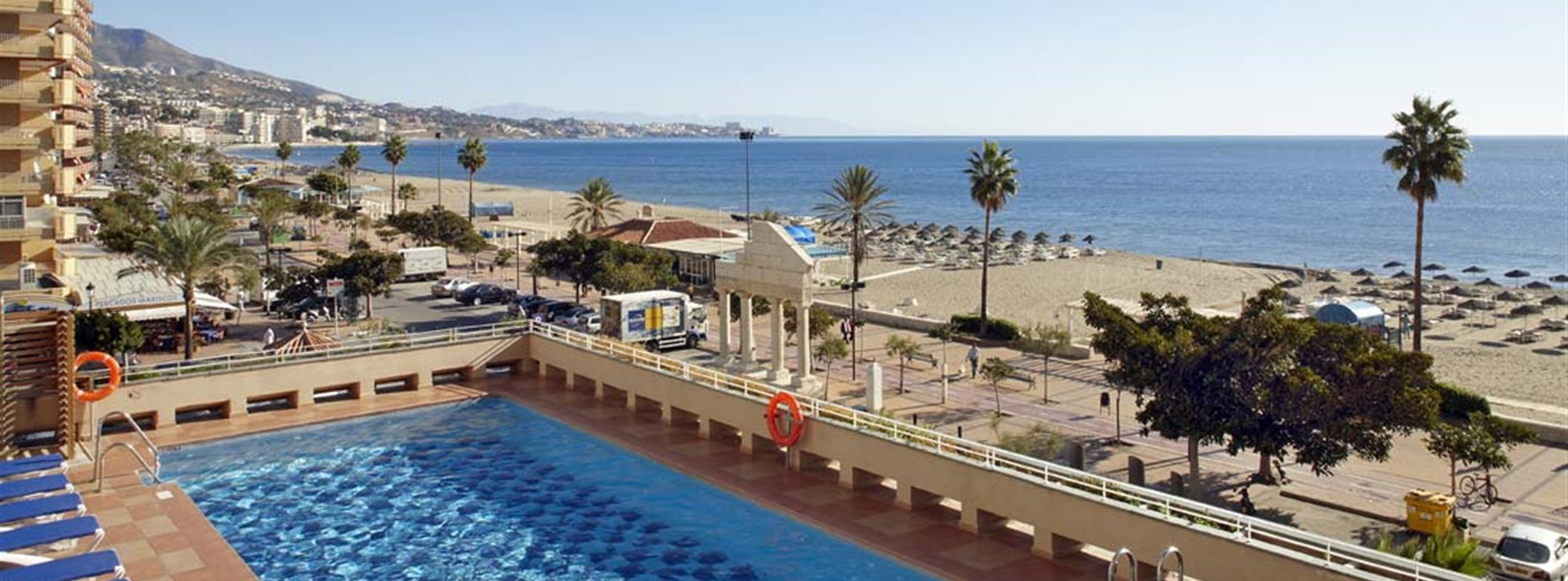 Fuengirola hotel and accommodation for your holiday by car or by plane - Apartamentos costa del sol ...